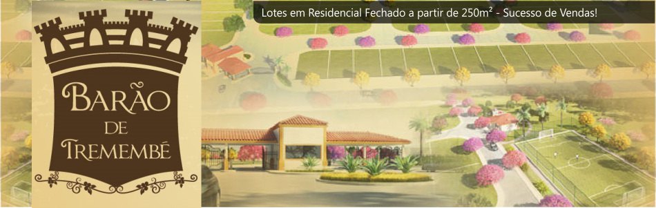 Lotes à partir de 250 m² em Residencial Fechado. Sucesso de Vendas!