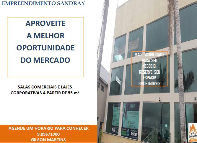 SALAS COMERCIAIS E LAJES CORPORATIVA A PARTIR DE 55 m²