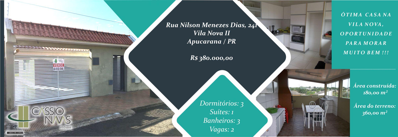 Casa Vila Nova II nº 241