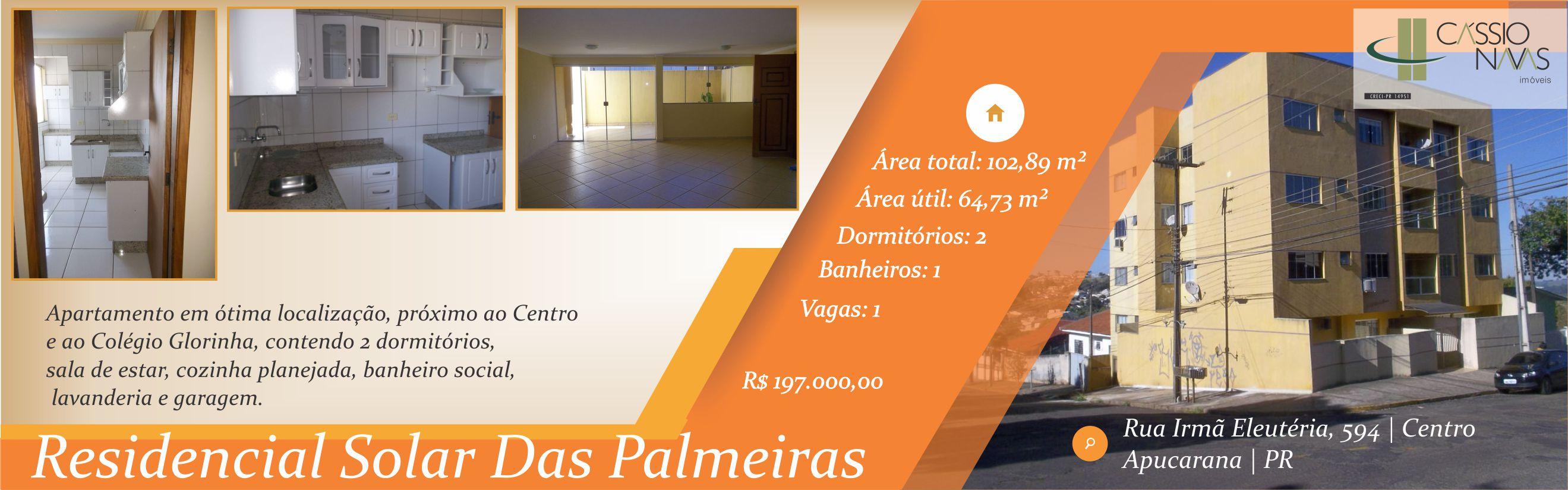 Apartamento Solar das Palmeiras 2º andar