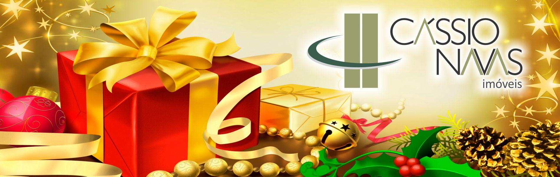 A equipe da Imobiliária Cássio Navas deseja um Feliz Natal e um Próspero Ano Novo a todos os seus clientes!