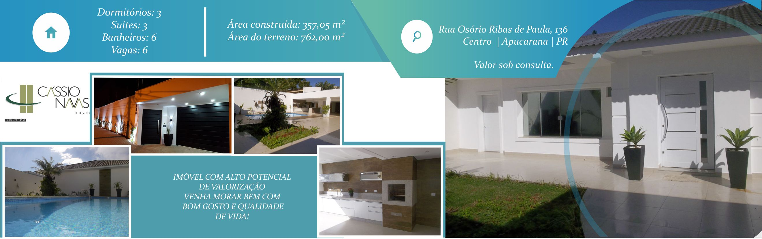 Residência Rua Osório Ribas nº 136