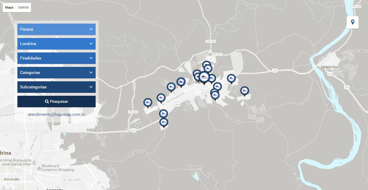 Confira a localização dos nossos imóveis de locação